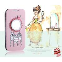 Buy cheap The new Korean version of Apple iphone case ,Pearl Leather Prismatic Cell Phone from wholesalers