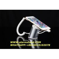 Best COMER Smart phone display pedestal with alarm shelf for cellphone accessories stores with charging cord wholesale
