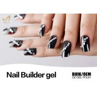 Best Soak Off 1 Kg Bulk Nail Builder Gel At Home Use No Chips OEM / ODM Service wholesale