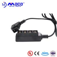 Buy cheap PPS Insulator Material Medical Cable Assemblies Male To 4 Position Female D- Tap from wholesalers