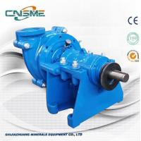 Best Double Frame AH Type Heavy Duty Metal Lined Slurry Pumps for Quarries wholesale