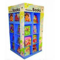 Best Eco-Friendly Sturdy Corrugated Pos Pallet Display Stand For Books Retail wholesale