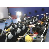 Cheap 24 Seats 5D Theater System With Electric Motion 5D Chair Play Roller Coaster for sale