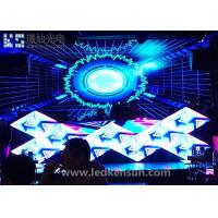 Best Epistar P4 Indoor Stage LED Screens High Definition / 1R1G1B Stage Background LED Display wholesale