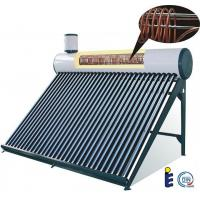 Best evacuated tube solar water heater tank with copper coil wholesale