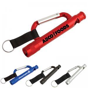 Best Carabiner Flashlight, Aluminium Mini Carabiner LED Flashlight wholesale