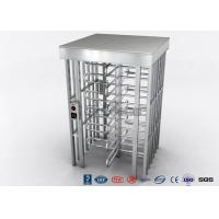 Best Indoor Or Outdoor Pedestrian Turnstile Security Systems Semi - Auto Mechanism Housing wholesale