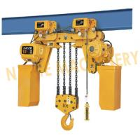Best Electric Rope Hoist / 10 Ton 5 Ton Electric Hoist With Double Cover Protection wholesale