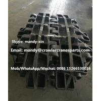 Best MANITOWOC 4100 Track Pad for Crawler Crane Undercarriage parts wholesale