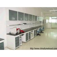 Best Full Steel Lab Workbench With Reagent Shelf For School Chemical Laboratory wholesale