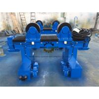 Quality 40 Ton Pipe Turning Rolls Movable To Automatic Rotate Pipes / Tubes / Cylinders wholesale