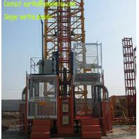 Cheap 2t load construction elecator material hoist from Yuanxin factory for sale