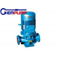 Best ISG cold / hot water vertical fire-fighting booster pump remote water supply warming systems wholesale