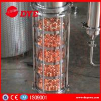 Cheap 300 Copper Alcohol Distiller Distillation Equipment for whiskey brandy for sale