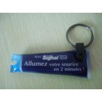 Best Environmental Custom Rubber Keychains , Small Led Flashlight Keychain wholesale