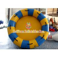 Best 4 / 6 Person Inflatable Water Toys Round Rafts ,Flexible Water Tank For Waterpark wholesale