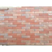Best Changeable Colors Flat Thin Split Face Brick For Exterior Wall Low Water Absorption wholesale