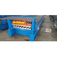 Best Corrugated Sheet Purlin Roll Forming Machine 7-12m / Min Working Speed wholesale