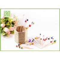 Best Disposable Wooden Heart Toothpicks Novelty Cocktail Sticks 10000pcs Per Carton wholesale