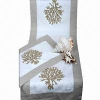 Best Cotton table runners with embroidery wholesale