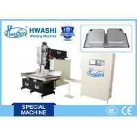 Best CNC Sink Seam Wedge Wire Screen Welding Machine 1s-10s Adjustable Forming Time wholesale