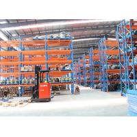 Quality Cold Roll Steel Pallet Storage Racks / Multi Tier Racking System 88*66*2.0 Mm Uprights wholesale