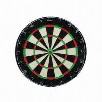 Best Bristle Dart Board with Knife Nets, Measures 18 x 1.5-inch, Non-toxic and Eco-friendly wholesale