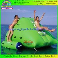 Details Of Commercial Outdoor Inflatable Iceberg Water Toys For Lake River Swimming Pools