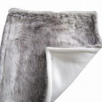 Best Artificial Fur Blanket with Microfleece Matched Color Back Fabric, Measures 150 x 200cm wholesale