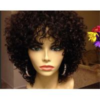 Best Smooth Mixed Color  Brazilian Curly Human Hair Extensions Can Be Dye Permed wholesale