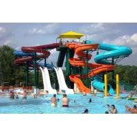 Details Of Outdoor Adults Fiberglass Water Slides For Swimming Pools Of Spiral Slides 101858840