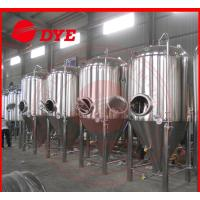 Best Stainless Steel Conical Beer Fermenter 50Mm - 80Mm Insulation wholesale