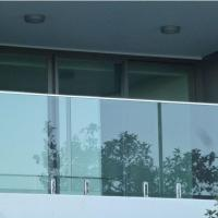 Best Modern High Quality Outdoor Stainless Steel Glass Balcony Railing Design wholesale