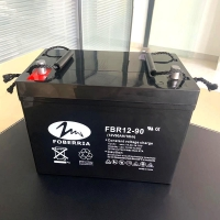 Best 12V90Ah 27A Deep Cycle Lead Acid Battery Low Discharge Rate For Solar Energy System wholesale