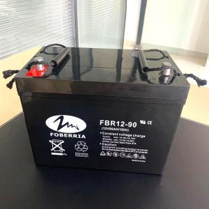 Best 90 Amp Hour Vrla Gel Lead Acid Battery 400 Cycles F14 Terminal wholesale