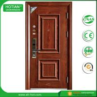 Best China manufacturer steel security door, metal entrance door, exterior front door wholesale