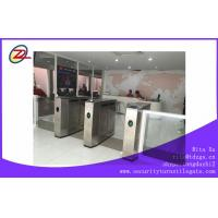 Best RFID Turnstile Security Products Flap Barrier Gate for exhibition or station wholesale