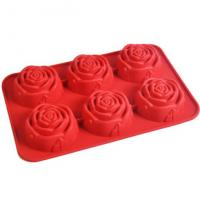 Best Flower Silicone cake decorating /silicone cake molds rose wholesale