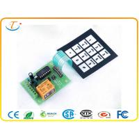 China Metal Dome PCB Membrane Keyboard Switch with Full Cover ESD tail on sale