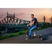 Best Shock Absorption Water Proof  Foldable Electric Scooter With USB Phone Charger BMS System 38km/H wholesale