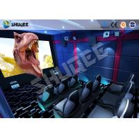 Best Small Mobile 7D Movie Theater With 9 seats possess Intelligent 7D control system wholesale