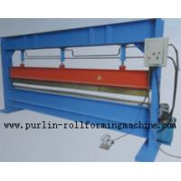 Best Slitter Hydraulic Bending Machine with Color Steel Panel , Steel Pipe / Tube Bender wholesale