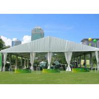 Best Self-Cleaning Pagoda Shade Shelter Canopy / Arch Pagoda Tent With Half Wall wholesale