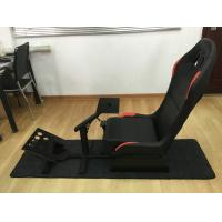 Best Customized Foldable Sport Racing Seats For Video Games PVC Material wholesale