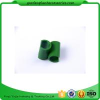 Cheap 8mm Reusable Garden Cane Connectors Green Color Long Lasting for sale