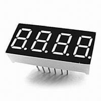 China 7-segment LED Displays with Four-digit and 9.20mm High on sale