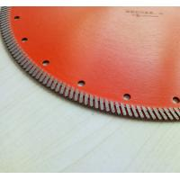 Best 14 Inch Cold Pressed Circular Saw Blades , Diamond Turbo Blade For Granite Cutting wholesale