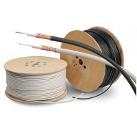 Best PVC Sheath Copper Coaxial Cable RG59/U Type Cctv Coaxial Cable PE Dielectric wholesale