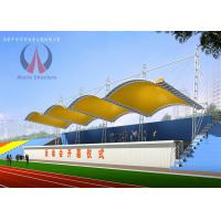 Steel Structural Playground Sun Sail Shades For Bleachers Weather - Proof