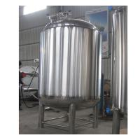 Best Semi-Automatic Stainless Steel Hot Water Storage Tanks 2MM Thickness wholesale